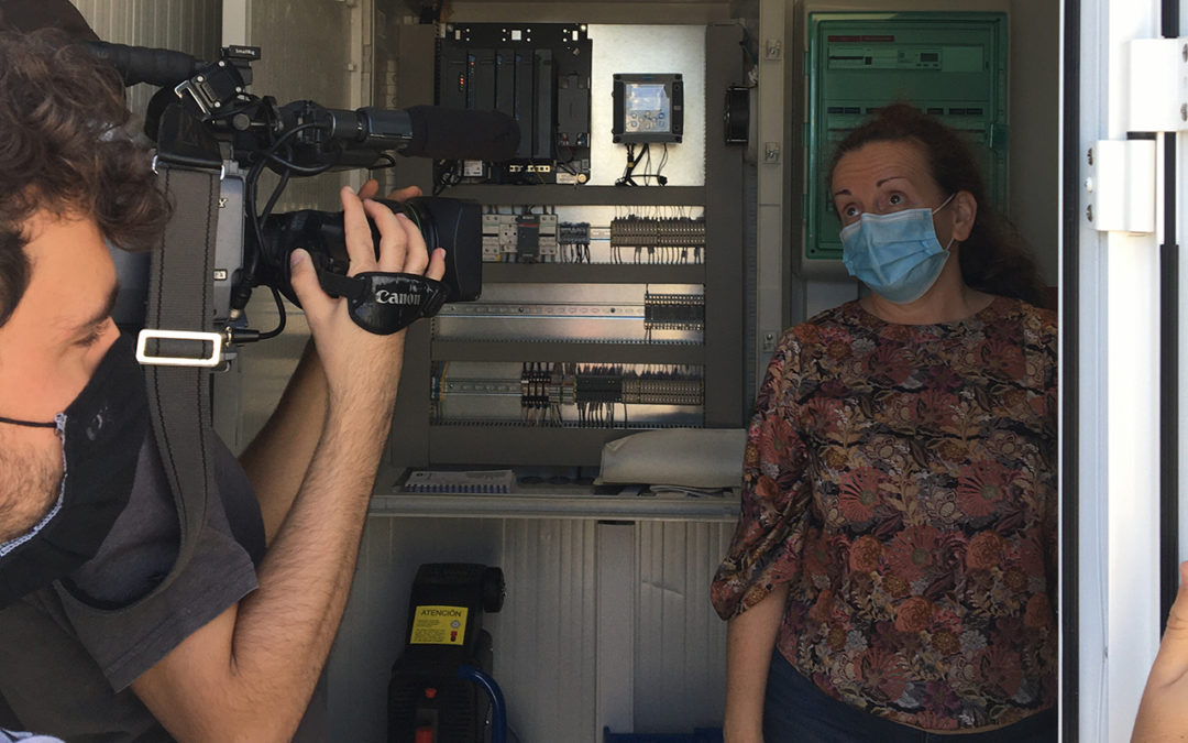 RTVE news on SarsCov2 detection